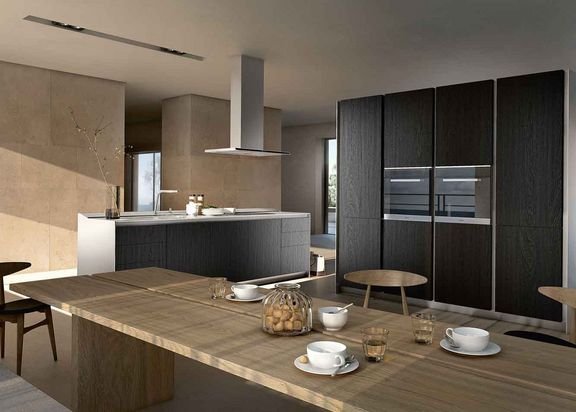 SieMatic Pure S1 donker sukopirahout