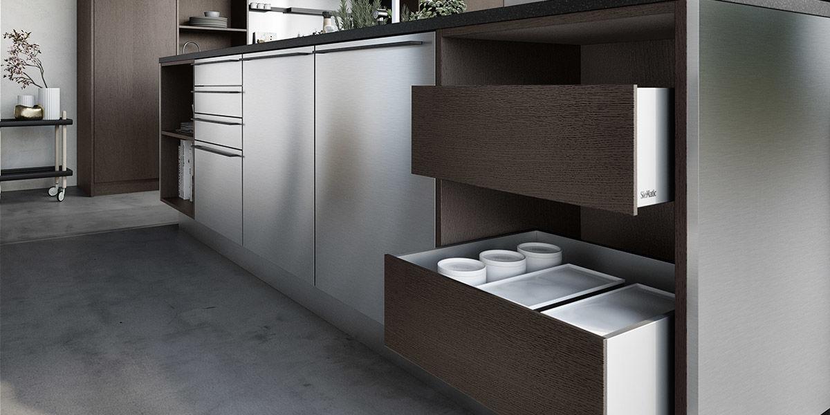 SieMatic donkere keuken hout