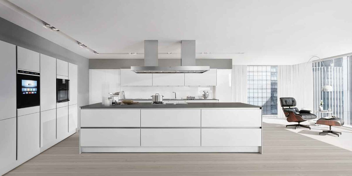 Siematic Witte Keuken.Siematic Pure S2 Lotuswit
