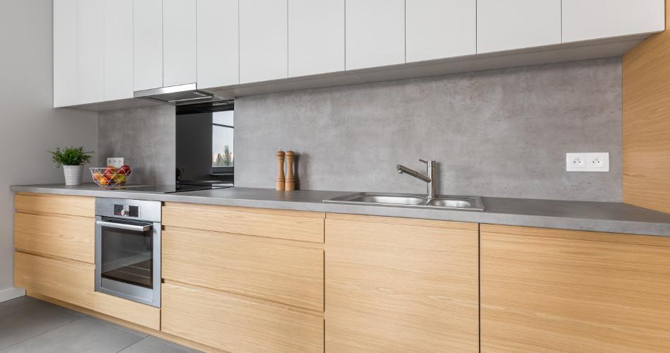 Luxe massief eiken houten keuken op maat met veel natuurlijke