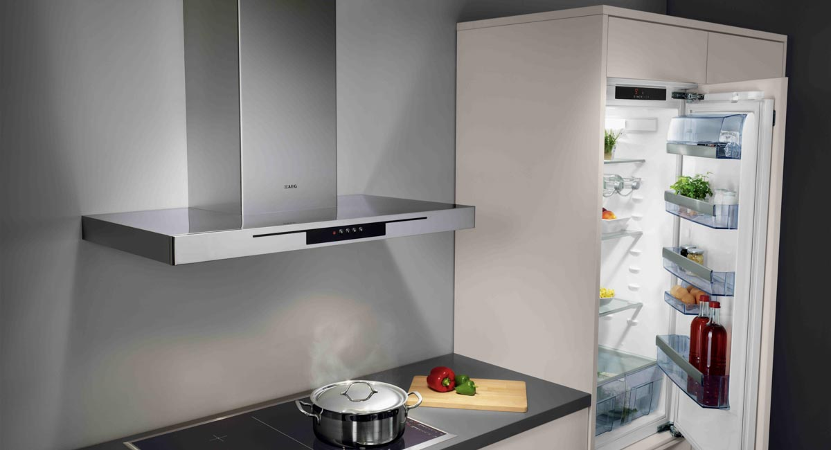 AEG koelkast touchcontrol
