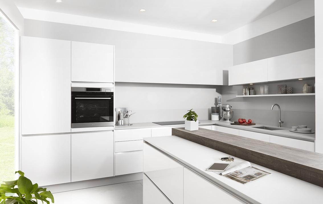 SKO keuken wit op grijs
